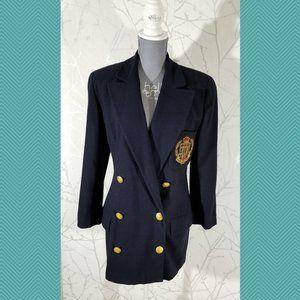 Ellen Tracy Jackets & Coats - Linda Allard Ellen Tracy Double Breasted Blazer